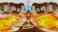 Hibiki's transformation in XV 02