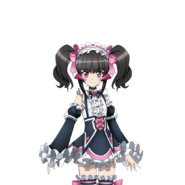 Shirabe's Maid Costume Art