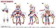 Kosumo Zesshō Kurosugia Phoenix Cloth Gear Chris