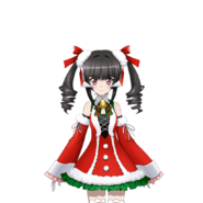 Shirabe's Christmas Gear Art