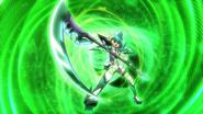 Kirika's transformation in GX 07