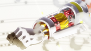 Hibiki's transformation in GX 03