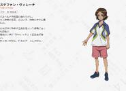 Symphogear AXZ Character Profile (Stephan)