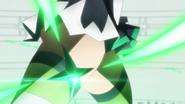Kirika's transformation in AXZ 05