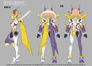 Lost Song Final Chapter Concept Art Hibiki AU 2