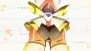 Hibiki's transformation in GX 04