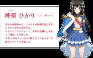 Revue must go on Hikari Kagura Profile 2