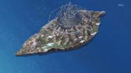 Frontier's top view