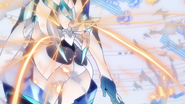 Tsubasa's transformation in GX 05