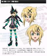 Symphogear G Character Profile (Kirika)