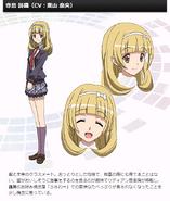 Symphogear G Character Profile (Shiori)
