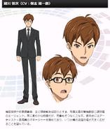Symphogear G Character Profile (Shinji)