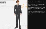 Symphogear XV Character Profile (Shinji)