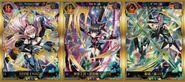 XDU Special Stage in Tokyo Game Show 2018 Card Sticker Set B