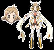 Hibiki (Gungnir) Character Design in G