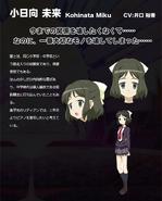 Symphogear Character Profile (Miku)