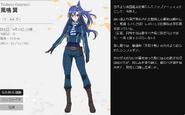 Symphogear XV Character Profile (Tsubasa)