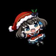 Garie's Christmas chibi form