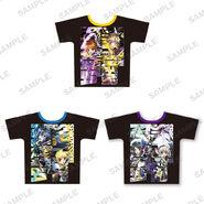 Nanoha Collabo Tshirt