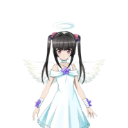 Shirabe's Angel Outfit Art