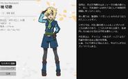 Symphogear XV Character Profile (Kirika)