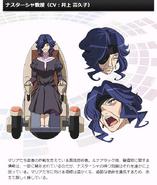 Symphogear G Character Profile (Nastassja)