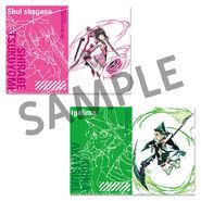 XV Official Clear File Shirabe Kirika