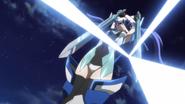 Tsubasa's Ame no Habakiri in G grabbing 2 swords