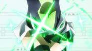 Kirika's transformation in GX 06