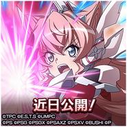 Hajikeru Hikari to Seigi no Sanka Maria Official Art