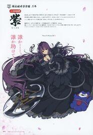 Yande.re 460766 sample dress murasaki (senran kagura) senran kagura weapon yaegashi nan