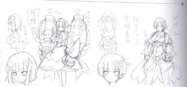 Yozakura Concept Art prototipo