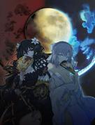 Fubuki and Yumi of the Moon