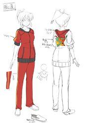 Homura New Link - Bocetos