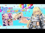 Feliz Cumpleaños Leo - Senran Kagura- New Link -Inglés-Español-.