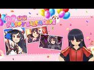 Feliz Cumpleaños Mirai - Senran Kagura- New Link
