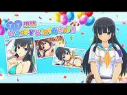 Feliz Cumpleaños Ikaruga - Senran Kagura- New Link -Inglés-Español-.