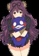 Kuma Murasaki Mascota