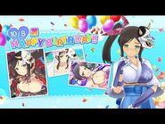 Feliz Cumpleaños Murakumo - Senran Kagura- New Link (English-Español)