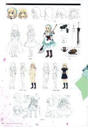 Yande.re 460735 sample bra character design cleavage dress pantsu pantyhose seifuku senran kagura sword yaegashi nan yomi (senran kagura)