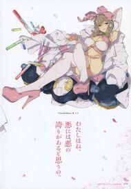 Yande.re 460749 sample cleavage haruka (senran kagura) heels senran kagura stockings thighhighs yaegashi nan