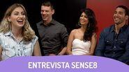 SENSE8 - Entrevista com Tina Desai, Miguel Ángel Silvestre e Brian J