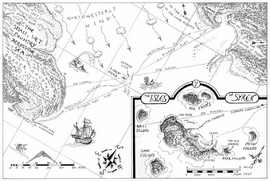 Map of the Sea