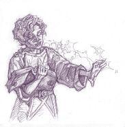 Spetimus doing a spell
