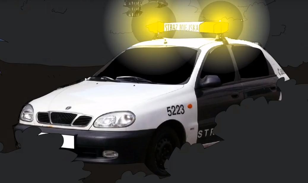 Radiowozy straży miejskiej