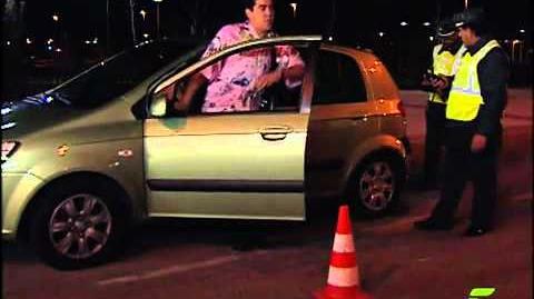 La que se avecina Amador y compaia borrachos con el coche