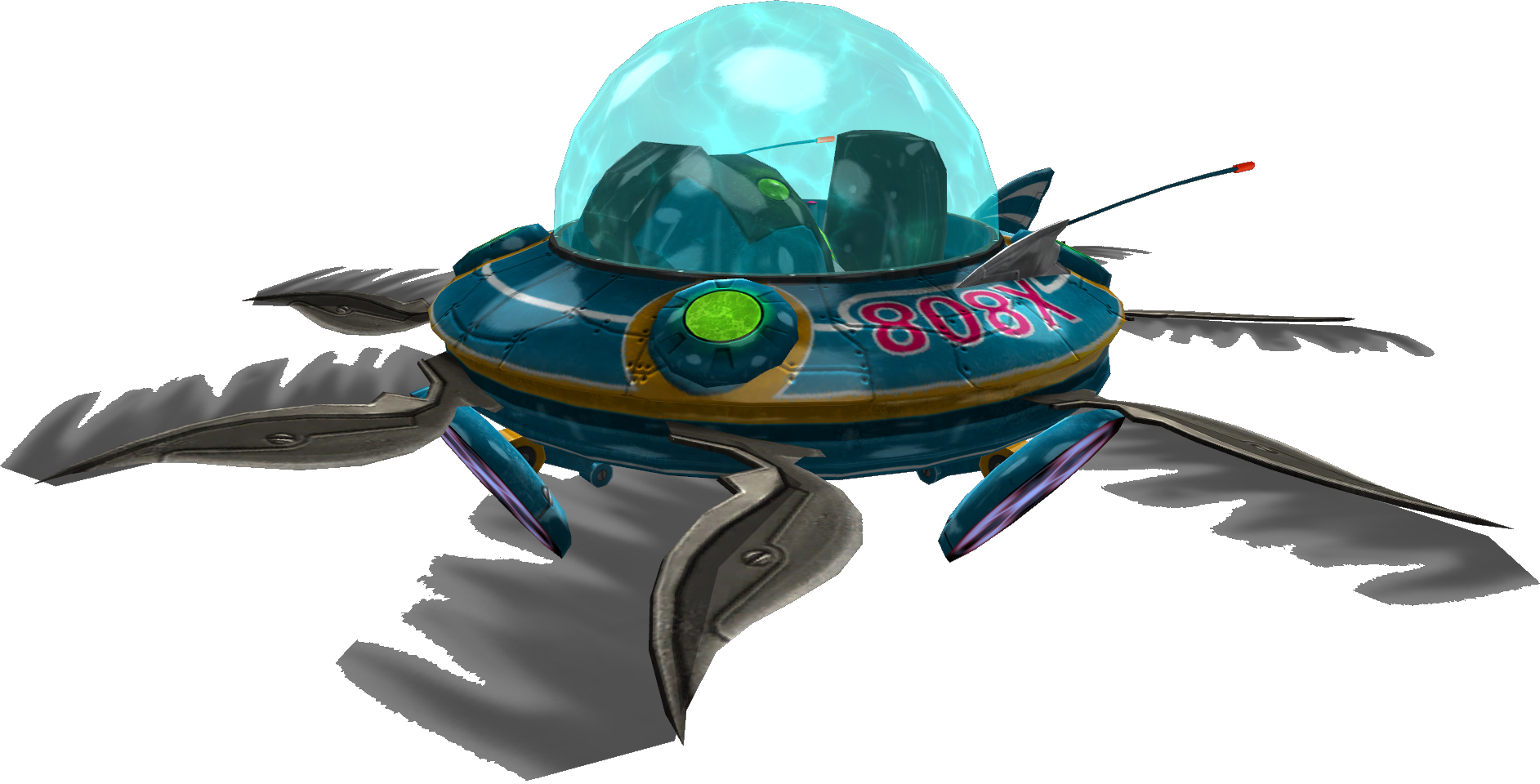 XZ-808 Flying Saucer