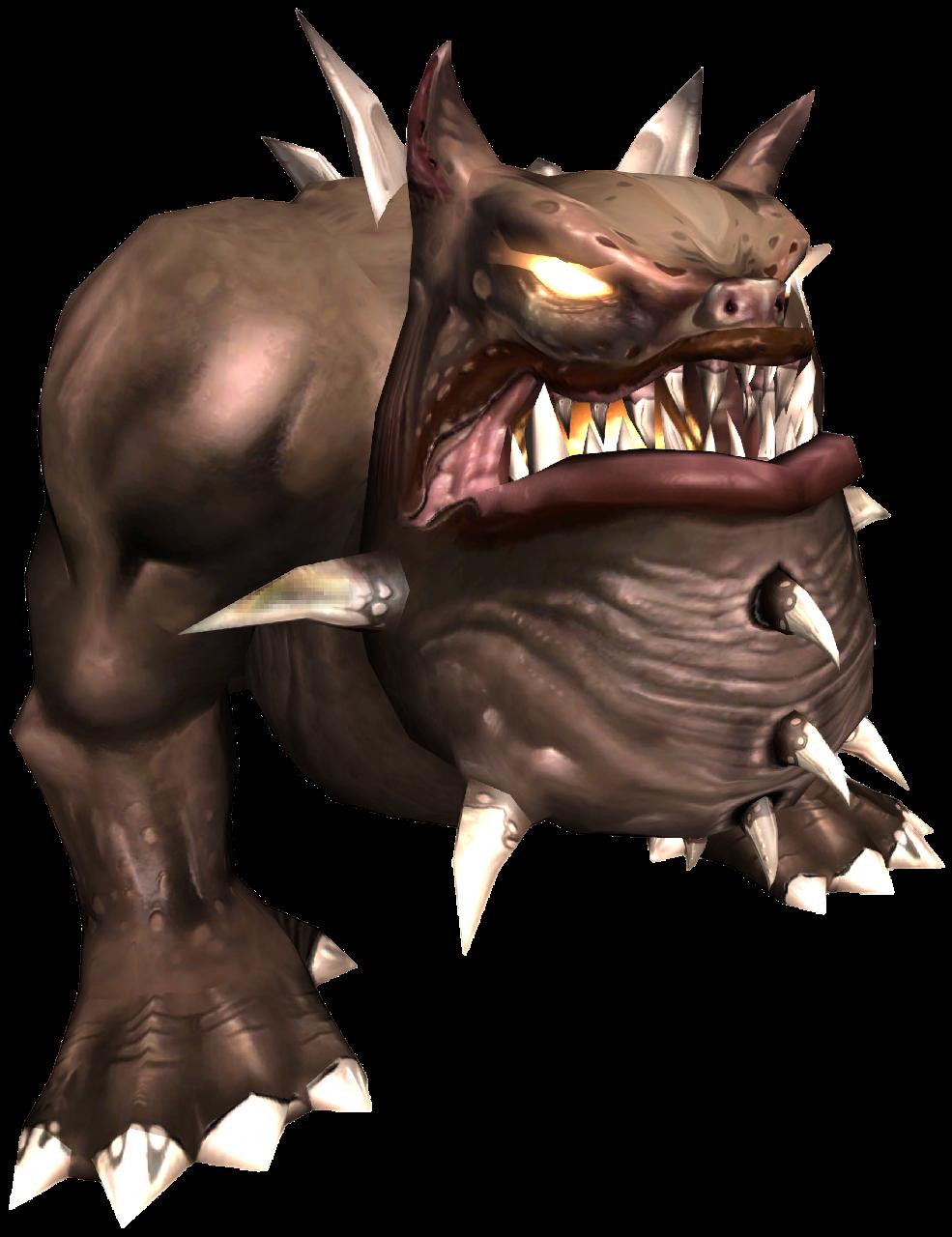 Spiky Bulldog