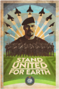 Earth Defense Force poster Rodriguez