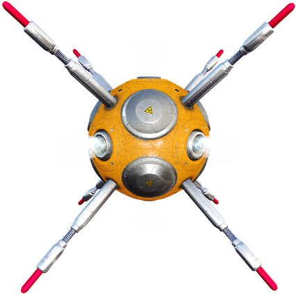 Flying Mine
